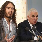 Russell Brand : Il parle de son alcoolisme pour aider la fondation Amy Winehouse