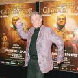 Hebert Léonard à la première de la comédie musicale Spartacus le Gladiateur, au Palais des Sports à Paris, le 13 octobre 2004.
