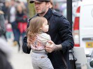 David Beckham : De footballeur énervé à papa attentionné avec sa petite Harper