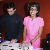 Audrey Pulvar : Chef d'une soirée gourmande Sushi Shop signée Kate Moss