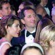 Charlotte Casiraghi et Gad Elmaleh amoureux lors du Bal de la Rose, le 23 mars 2013 à Monaco, qui rendait cette année hommage aux 150 ans de la Société des Bains de mer. La princesse Caroline avait demandé à son ami Karl Lagerfeld d'orchestrer l'événement traversant le temps de la Belle Epoque à l'ère pop et habilement baptisé Belle et Pop.