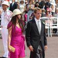 Andrea Casiraghi, fils de la princesse Caroline de Hanovre, et Tatiana Santo Domingo sont devenus parents d'un petit Sacha le 21 mars 2013