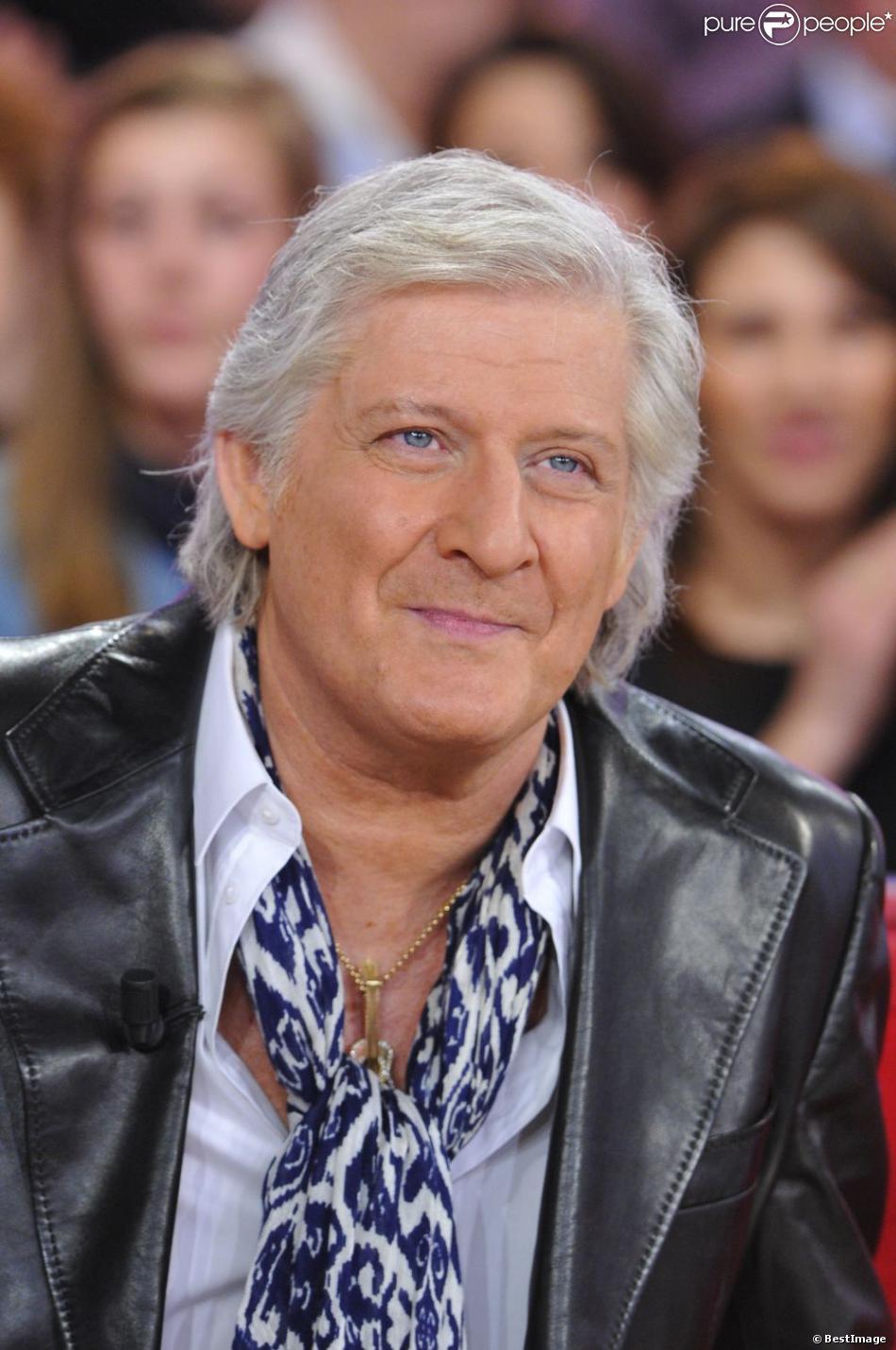 Patrick Sébastien à l'enregistrement de l'emission Vivement Dimanche à Paris, le 27 février 2013 et diffusée le 3 Mars 2013.