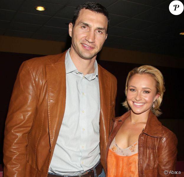 Wladimir Klitschko et Hayden Panettiere le 23 avril 2011 à New York.
