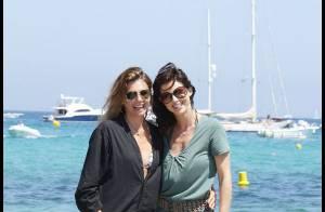 PHOTOS : Véronika Loubry et Caroline Barclay deux beautés à Saint-Tropez !