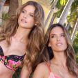 Alessandra Ambrosio et Behati Prinsloo nous invitent dans les coulisses de leur shooting pour la collection Very Sexy de Victoria's Secret.