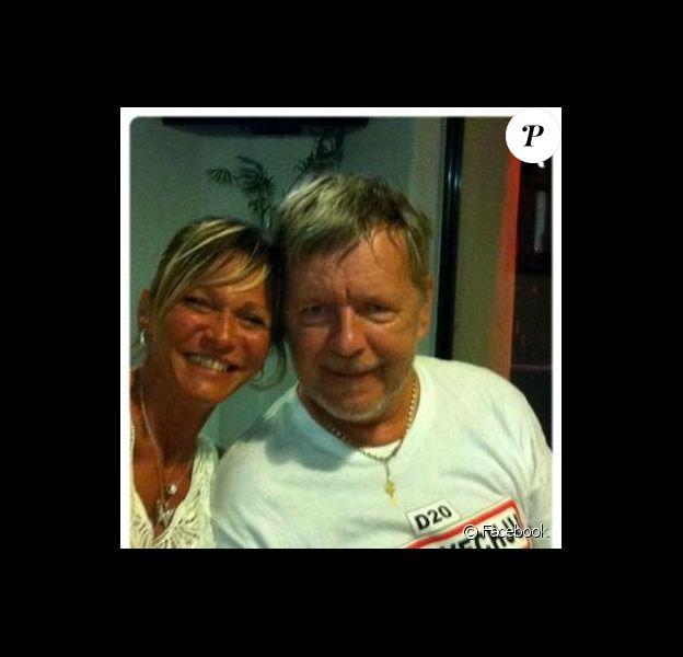 Le chanteur Renaud et sa nouvelle compagne Sylvie Ehleringer, octobre 2012.