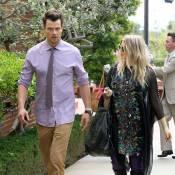 Fergie et Josh Duhamel : Pâques à l'église pour les futurs parents ultrastylés