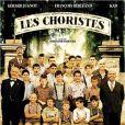 Jean-Paul Bonnaire, ici juste au-dessus de Gérard Jugnot, sur l'affiche officielle du film Les Choristes.