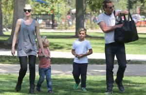 Gwen Stefani : Maman rock et relax au côté des trois hommes de sa vie