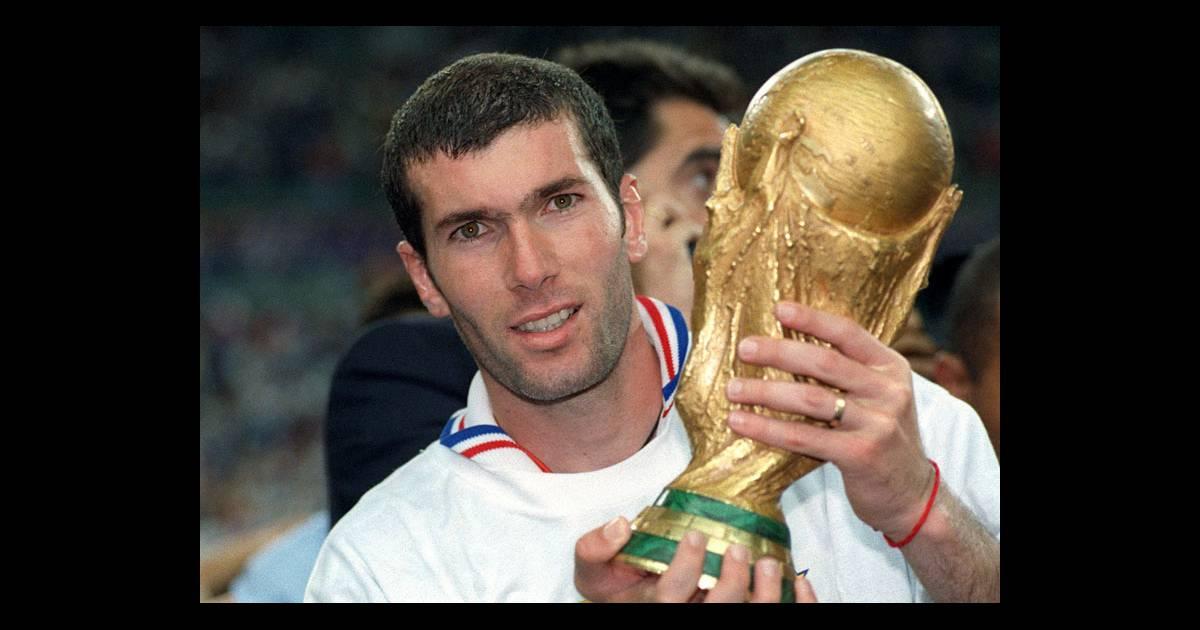 Zinedine zidane purepeople - Zidane coupe du monde 1998 ...
