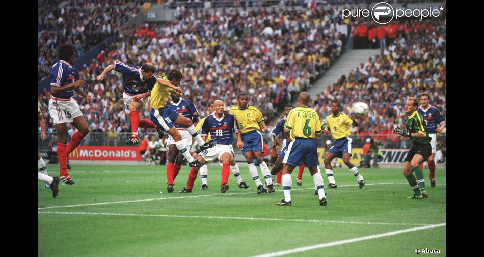La coupe du monde 1998 finale france br sil - Finale coupe du monde foot ...
