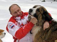 Vladimir Poutine : Tendre balade avec ses deux chiens avant de croiser les Femen
