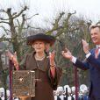 La reine Beatrix des Pays-Bas lors de la réouverture du Rijksmuseum à Amsterdam le 13 avril 2013.