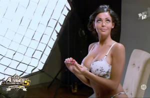 Les Anges de la télé-réalité 5 : Nabilla, angélique et ultrasexy, en lingerie