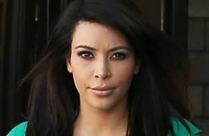 Kim Kardashian : Enceinte et sexy en robe ultramoulante pour un anniversaire