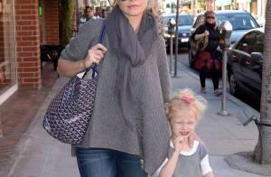 Rebecca Gayheart : Maman protectrice avec sa jolie petite Billie