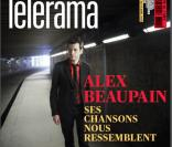 Alex Beaupain en couverture de Telerama en avril 2013