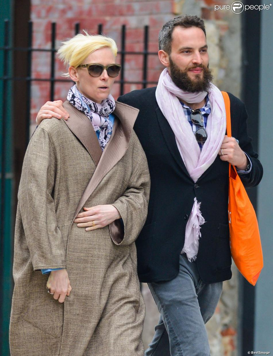Tilda Swinton couple