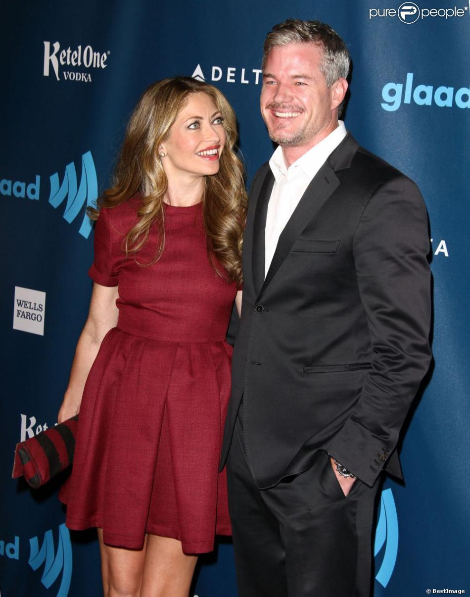 Rebecca Gayheart et Eric Dane à la 24e cérémonie des GLAAD Media ...