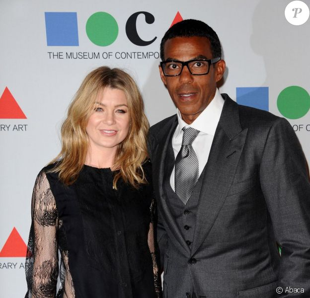 Ellen Pompeo et son mari Chris Ivery lors du MOCA Gala 2013, le Museum of Contemporary Art Gala, qui célèbre le lancement de l'exposition de l'artiste Urs Fischer, à Los Angeles, le 20 avril 2013