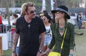Johnny et Laeticia Hallyday : Amoureux, rock'n'roll et complices à Coachella !