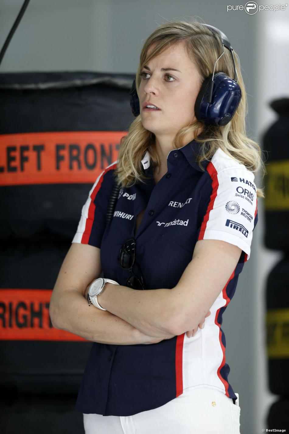 susie wolff claire williams ces femmes qui bousculent le petit monde de la f1 purepeople. Black Bedroom Furniture Sets. Home Design Ideas