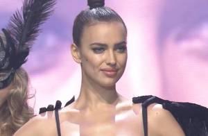Irina Shayk : Élégante en soirée et terriblement sexy pour un défilé de lingerie