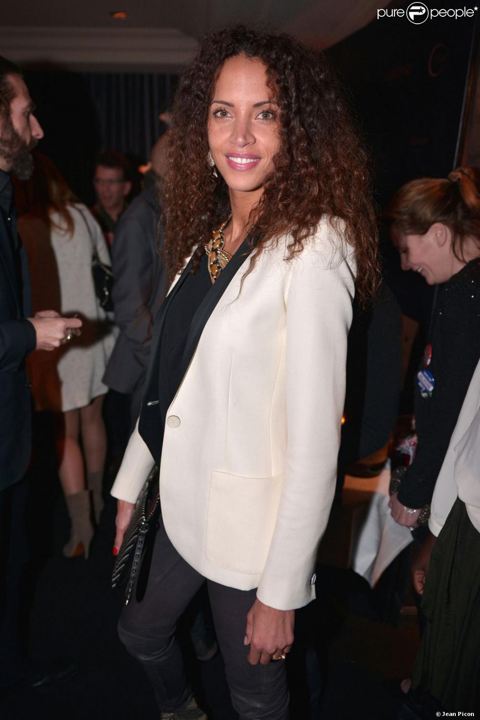 Noémie Lenoir lors de la soirée A Club - Toiles enchantées chez Castel le jeudi 13 décembre 2012