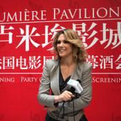 Lorie : Charme et élégance française à Pékin au côté de l'ambassadeur Luc Besson
