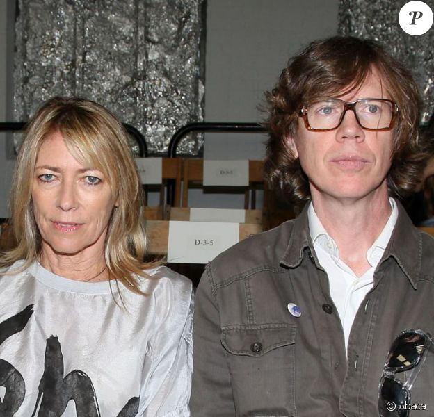 Kim Gordon et Thurston Moore de Sonic Youth à New York le 14 septembre 2010.