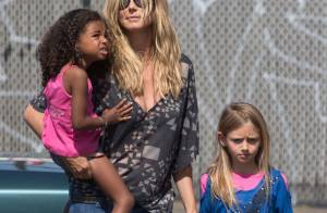 Heidi Klum : Sortie avec les enfants, son boyfriend et sa maman omniprésente