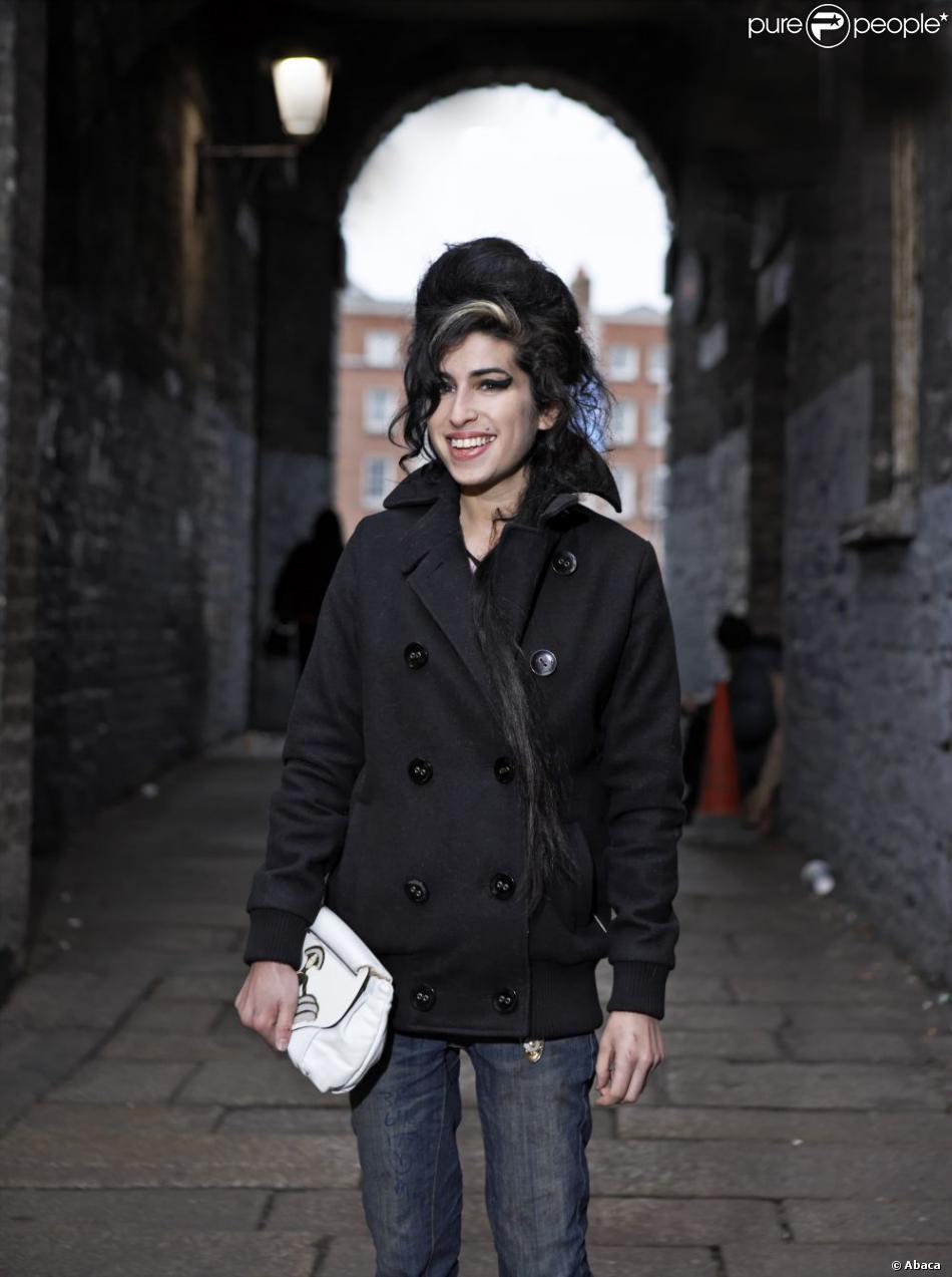 Amy Winehouse, Londres, février 2007.