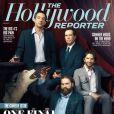 Bradley Cooper sur la couverture du magazine The Hollywood Reporter (daté du 10 mai 2013) au côté de ses complices de  Very Bad Trip .