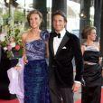 La princesse Marilène et le prince Maurits d'Orange-Nassau au Concertgebouw d'Amsterdam le 27 mai 2011 pour les 40 ans de Maxima.