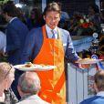 Le prince Maurits d'Orange-Nassau lors du Jour de la reine (Koninginnedag) à Rhenen le 30 avril 2012