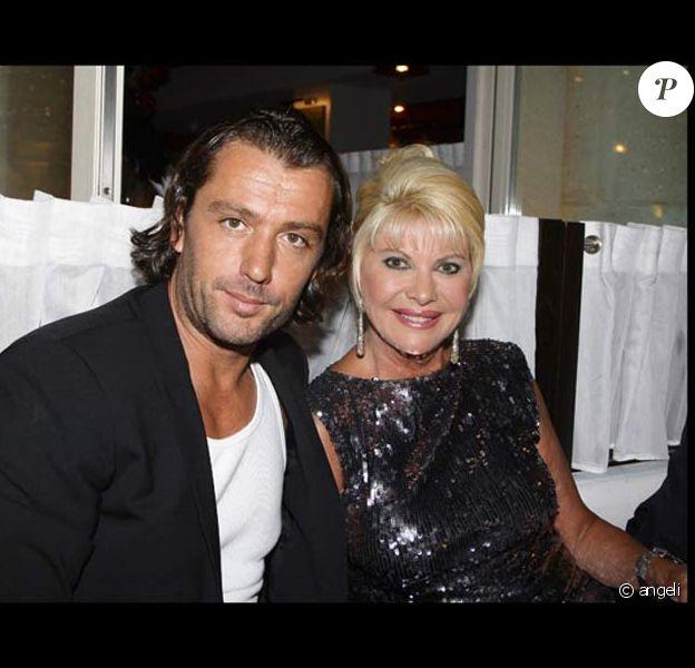 Ivana Trump et son mari Rossano Rubicondi