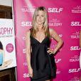 Jennifer Aniston lors de la soirée de lancement du livre Yogalosophy à Los Angeles le 30 avril 2013