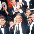 Alain Delon lors du Festival de Cannes 1989