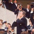 Alain Delon lors du Festival de Cannes 1990