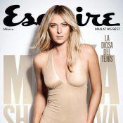 Maria Sharapova : Sublime, la belle Russe dévoile ses formes pour Esquire