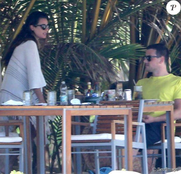 Lea Michele et Cory Monteith à Puerto Vallarta au Mexique, le 7 mai 2013.