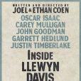 Le nouveau poster du film Inside Llewyn Davis, des frères Coen.
