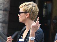 Charlize Theron : Ravissante mais très énervée lors d'une sortie avec son fils