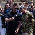 Le prince Harry a allumé la flamme des Warrior Games, le 11 mai 2013 à Colorado Springs