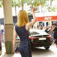 Nicole Kidman arrivant à l'hôtel Martinez à Cannes pour la première réunion en huis-clos avec les membres du jury le 14 mai 2013
