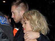 Rita Ora : Beauté rouge passion pour son chéri Calvin Harris