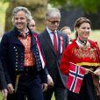 Märtha-Louise de Norvège et son époux Ari Behn célébraient le 17 mai 2013 la Fête nationale norvégienne... à Londres.