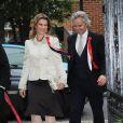 La princesse Märtha-Louise de Norvège et son mari Ari Behn prenaient part le 17 mai 2013 à Londres à un dîner ponctuant les célébrations de la fête nationale norvégienne.