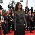 Liya Kebede à la montée des marches du film Jimmy P. (Psychothérapie d'un Indien des Plaines), au 66e Festival de Cannes, le 18 mai 2013.